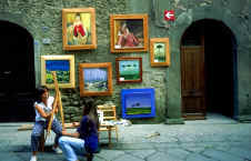 Street Artists in Filetto